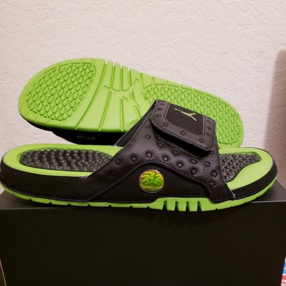 dd0246eab25 Jordan Shoes | New Hydro Xiii 13 Retro Altitude Green Blk | Poshmark